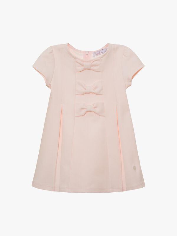 Mini Jersey Bow Dress