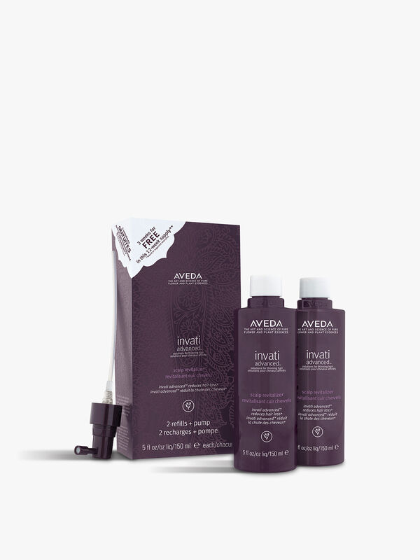 Invati Advanced Scalp Revitalizer x2 150 ml Duo Pack