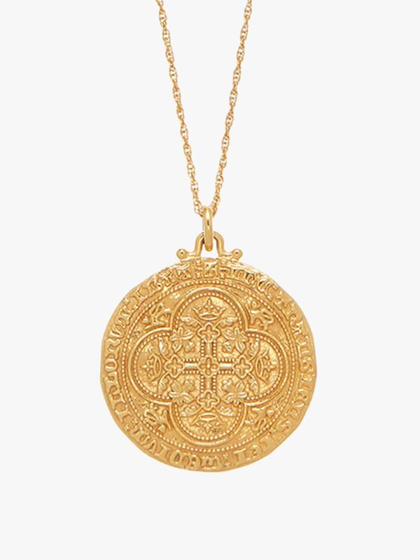 Heirloom Coin Pendant Necklace