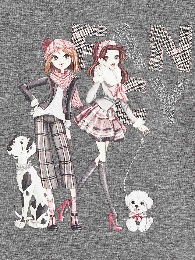 Character Girl Multi Set With Skirt