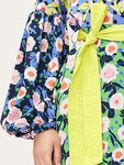 Karla Belted Wrap Dress