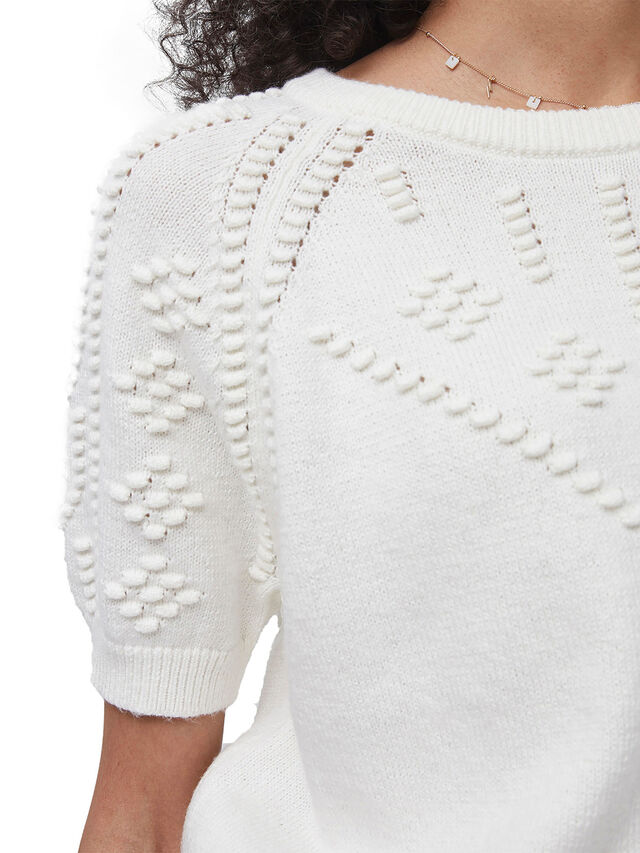 Karla Knitted Short Sleeve Top