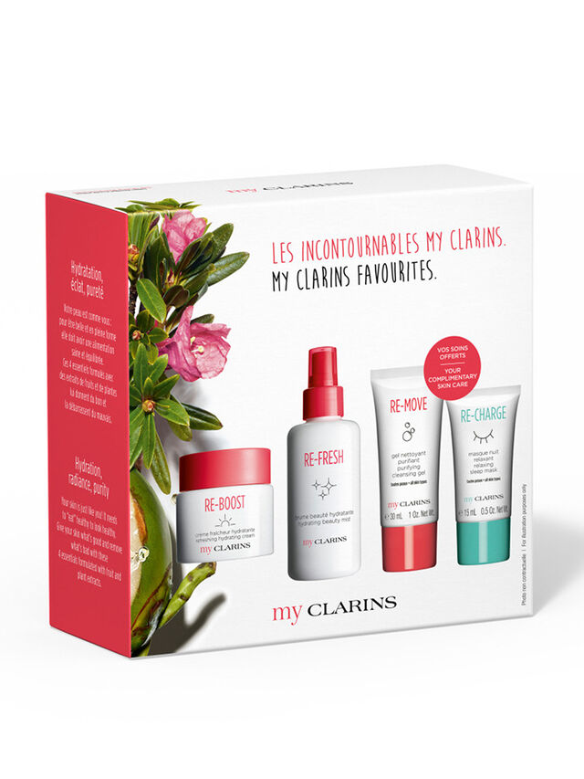 My Clarins Skincare Collection