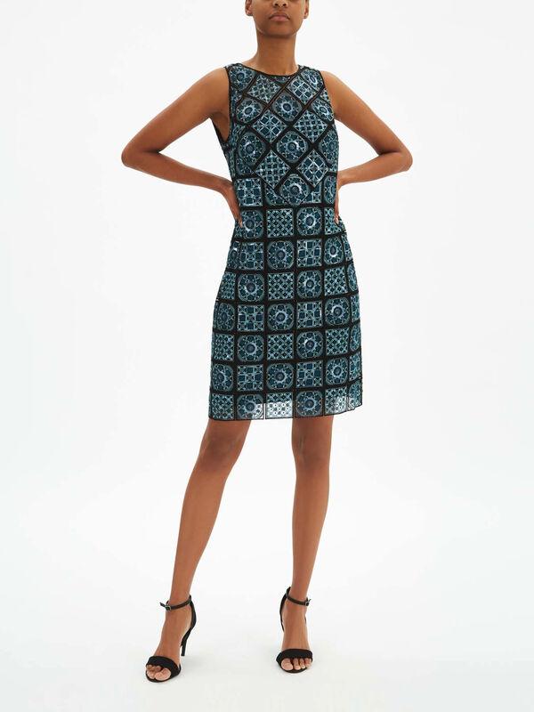 Helena Tile Embellished Dress