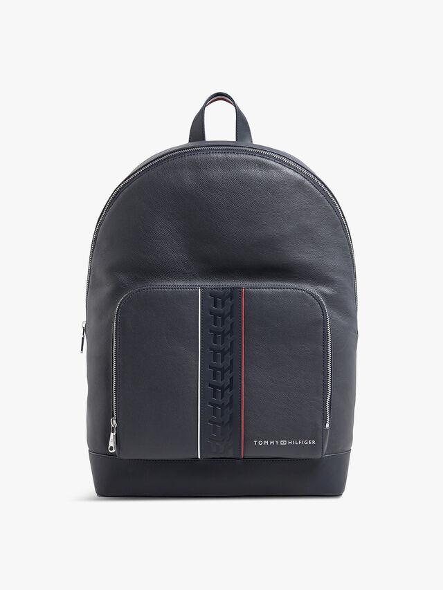 Monogram Leather Backpack