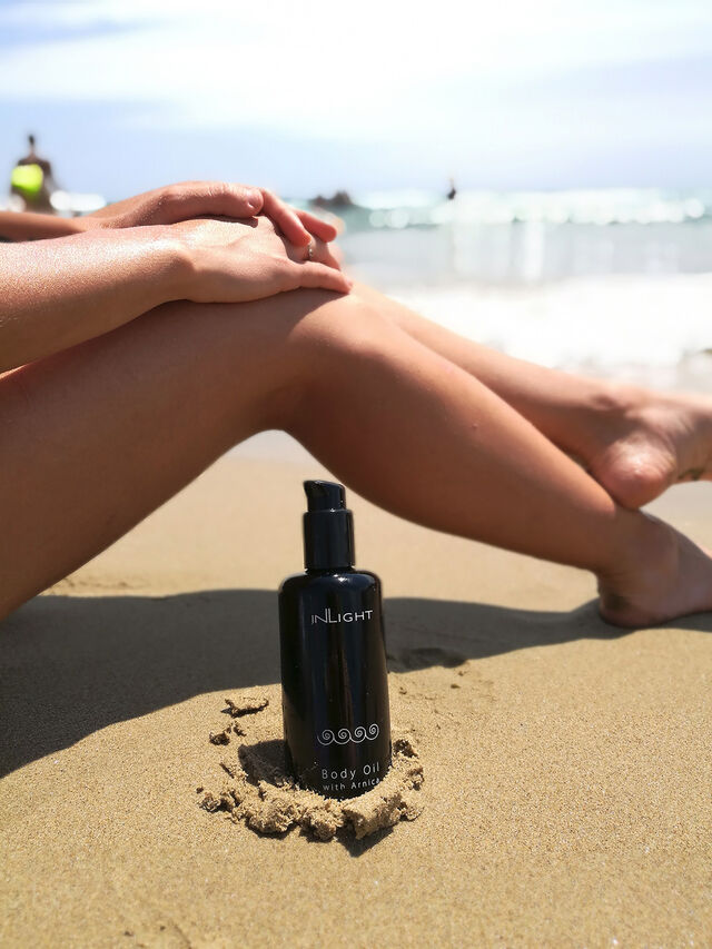 Body Oil with Arnica
