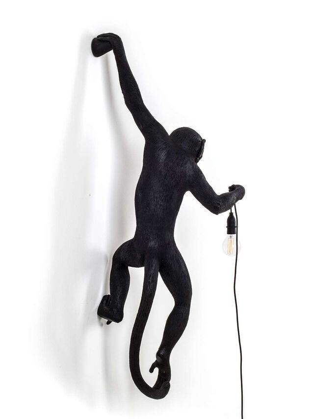 Monkey Lamp Hanging Left