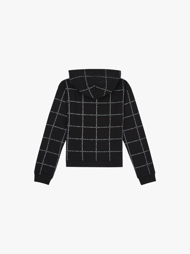 Logo Diagonal Stripe Sweater