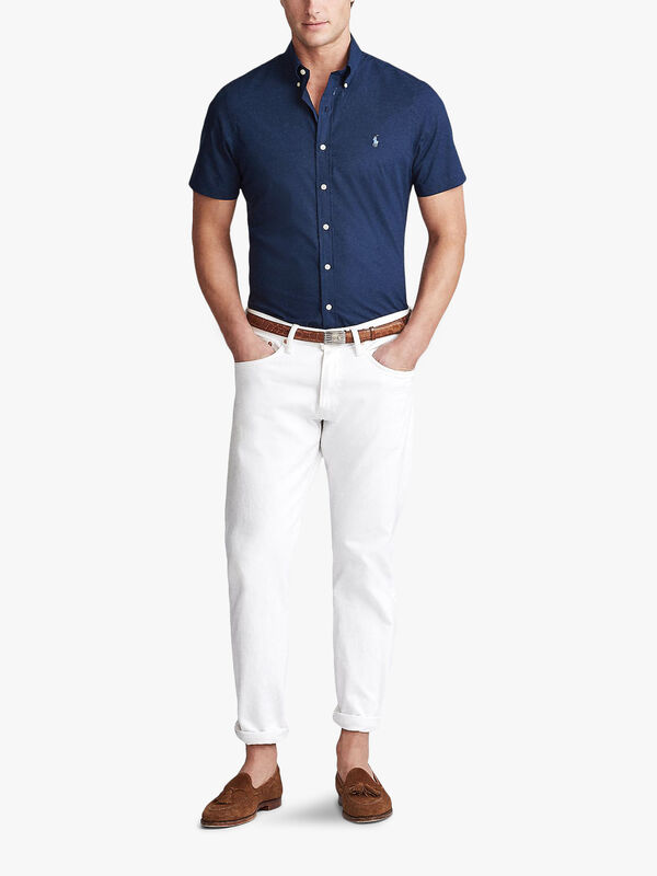 Soft Poplin Short Sleeve Shirt