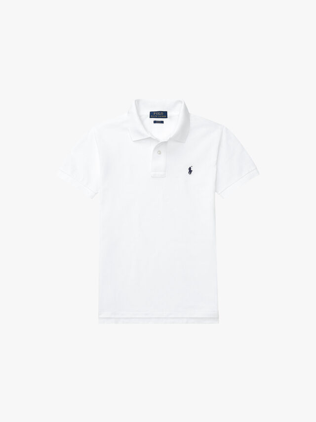 Custom Fit Basic Mesh Polo