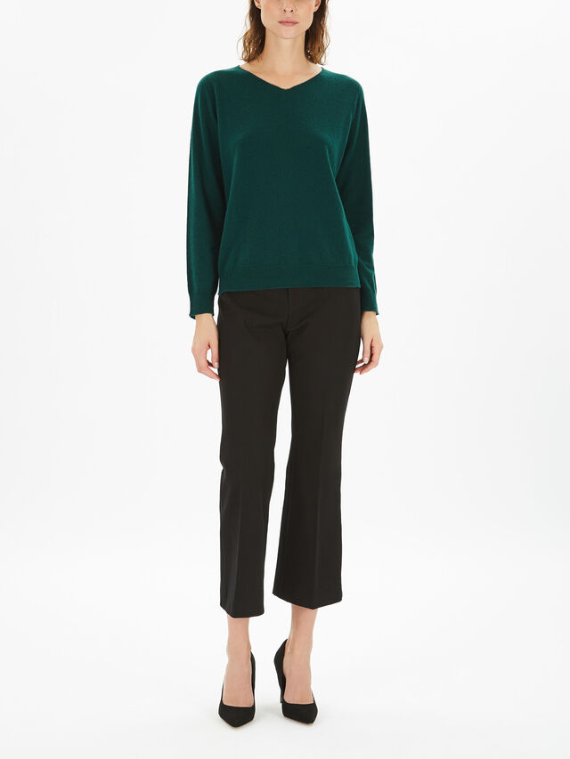 Estroso V-Neck Fine Knit
