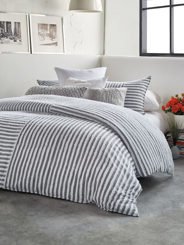 Clipped Squared Duvet Cover