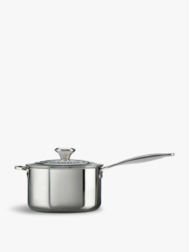 Signature Uncoated Saucepan With Lid 16cm