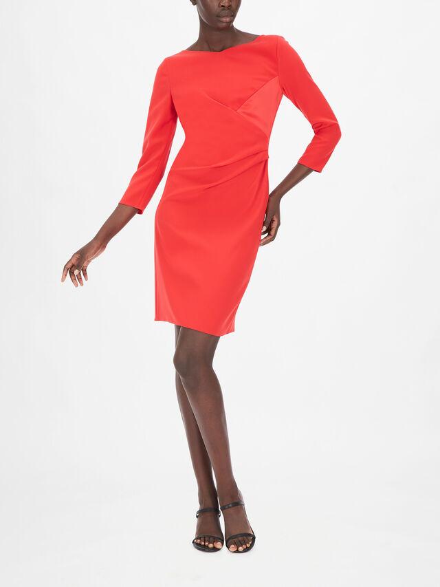 Sleeveless Midi Pencil Dress