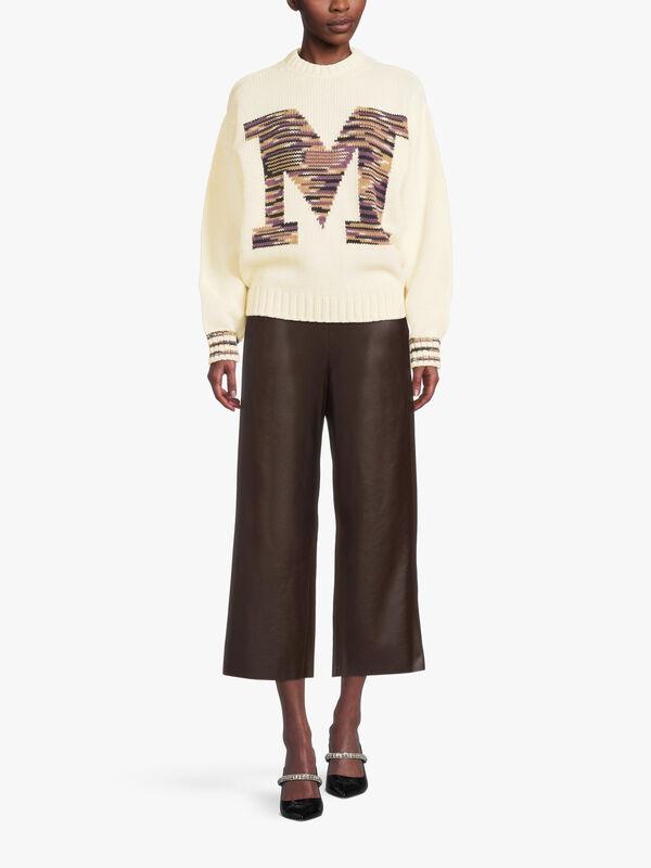 M Logo Knitted Jumper