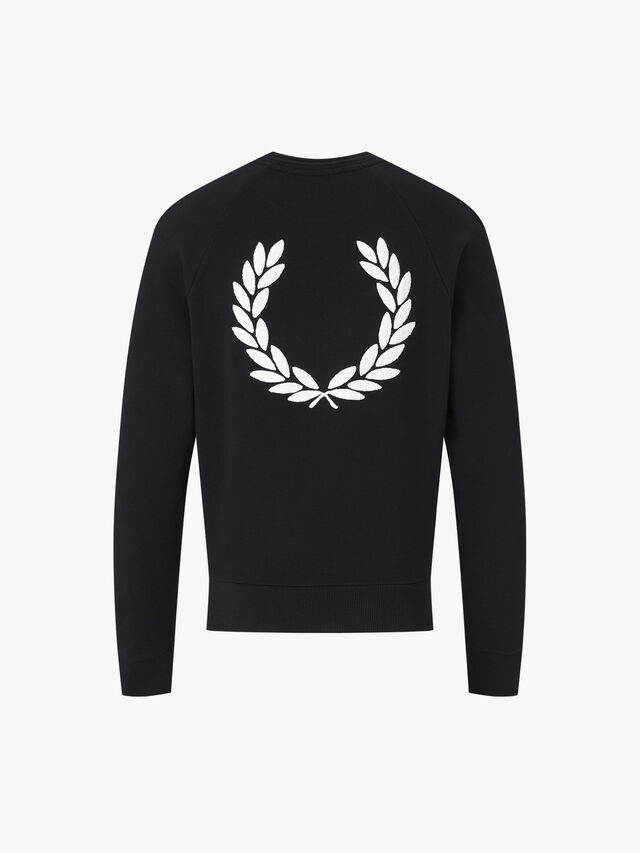 Towelling Laurel Wreath Sweatshirt