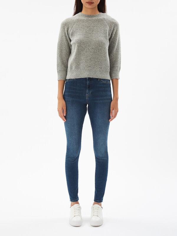 Fiore Sequin Sweater