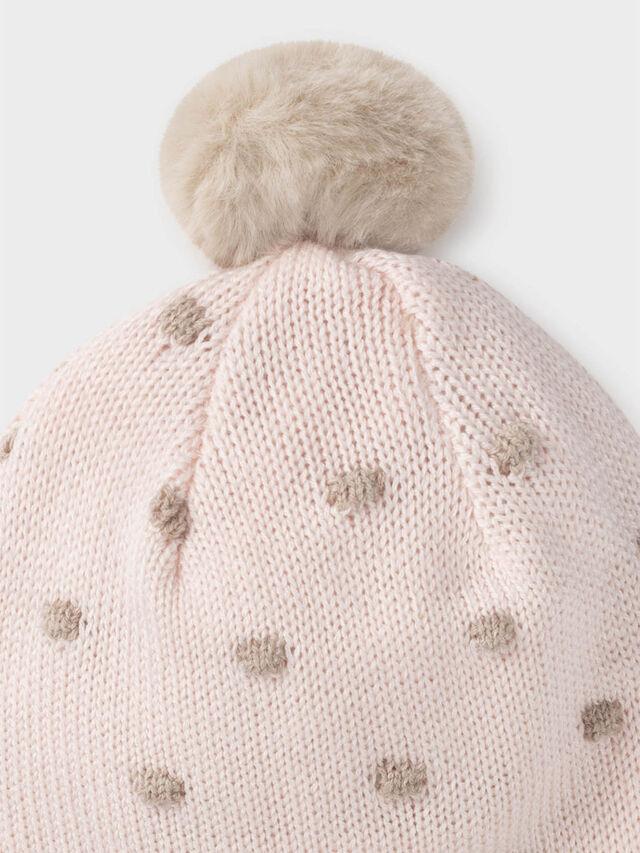 Stitching Hat and mittens set