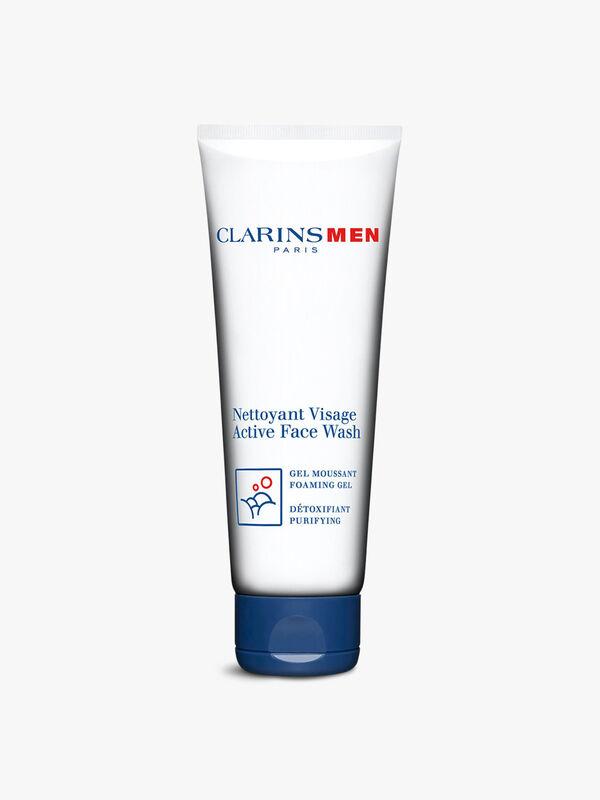 ClarinsMen Active Face Wash Foaming Gel