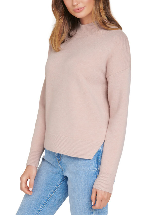 Riley Stand Neck Essential Jumper