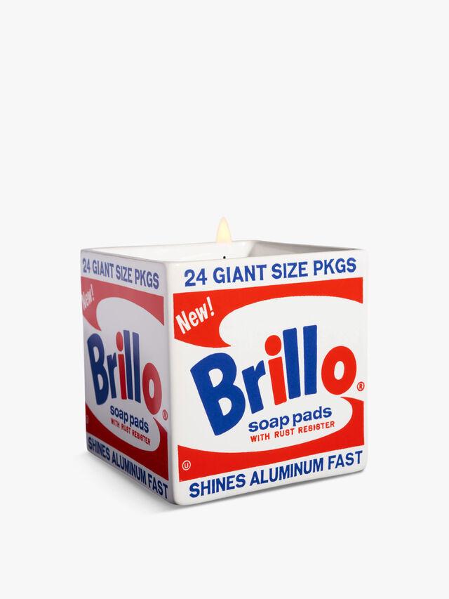 Andy Warhol Perfumed Candle Brillo Box