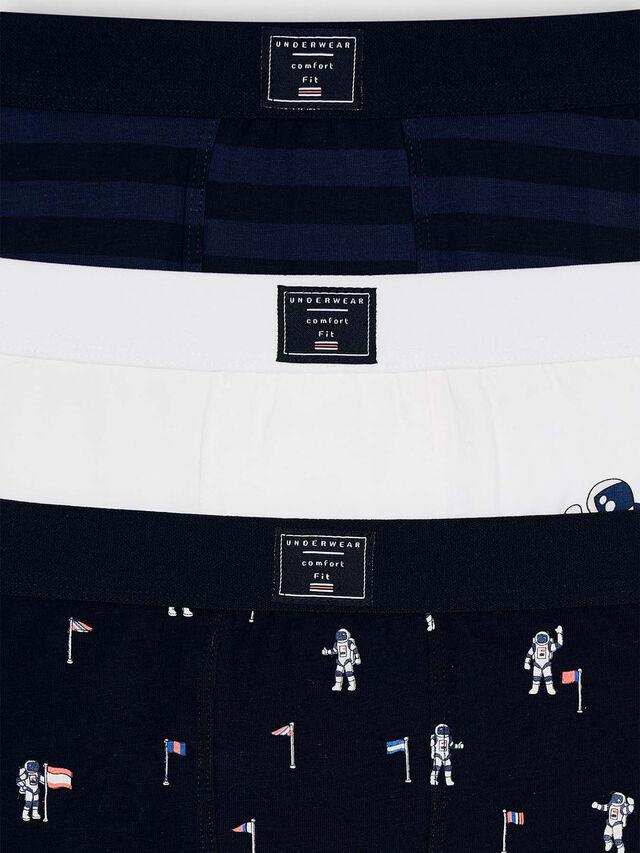 3Pc Boxers Set- Space