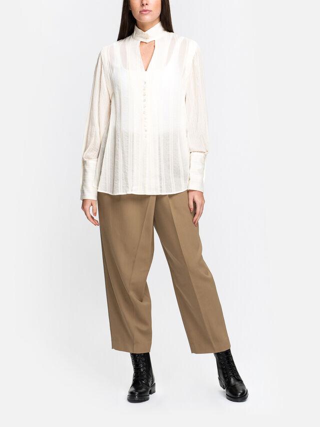 2 Way Cupro Silk Long Shirt