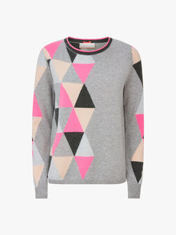 Crew-Neck-Triangle-Motif-Knit-0001069434