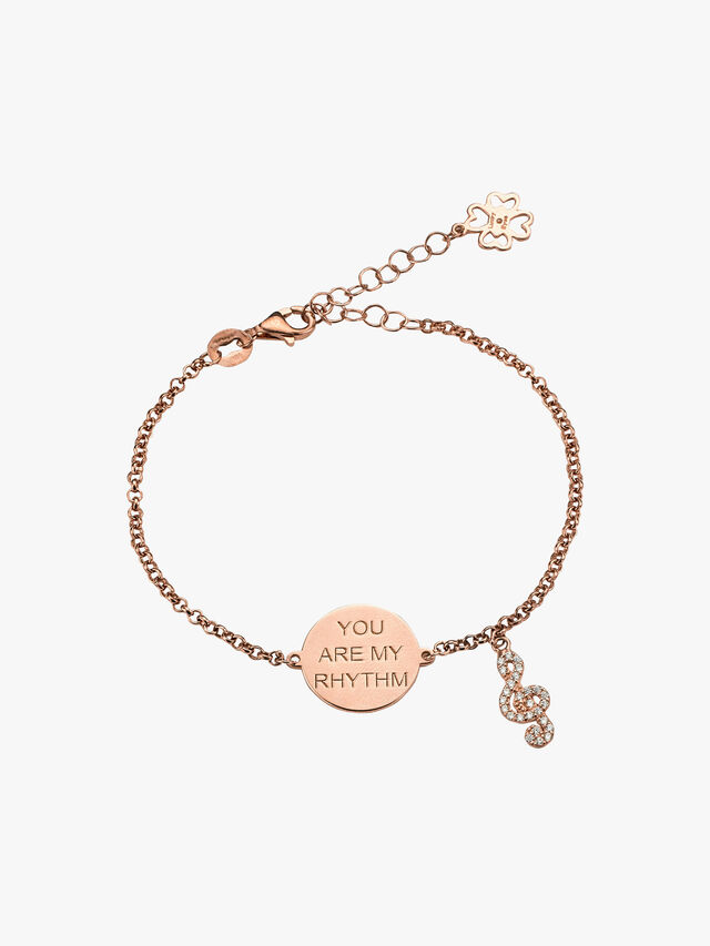 You Are My Rhythm Music Note Bracelet