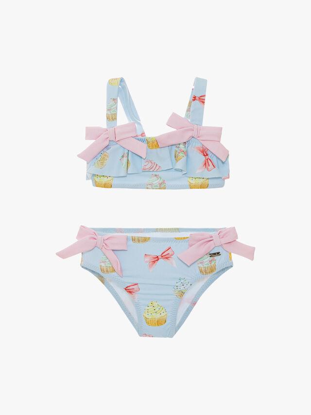 Check and Bows Bikini