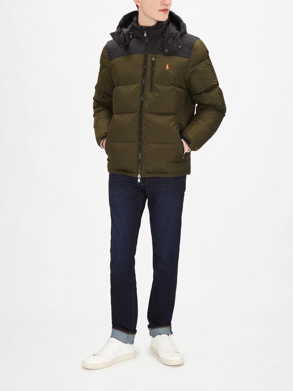 EL Cap Hybrid Hooded Coat