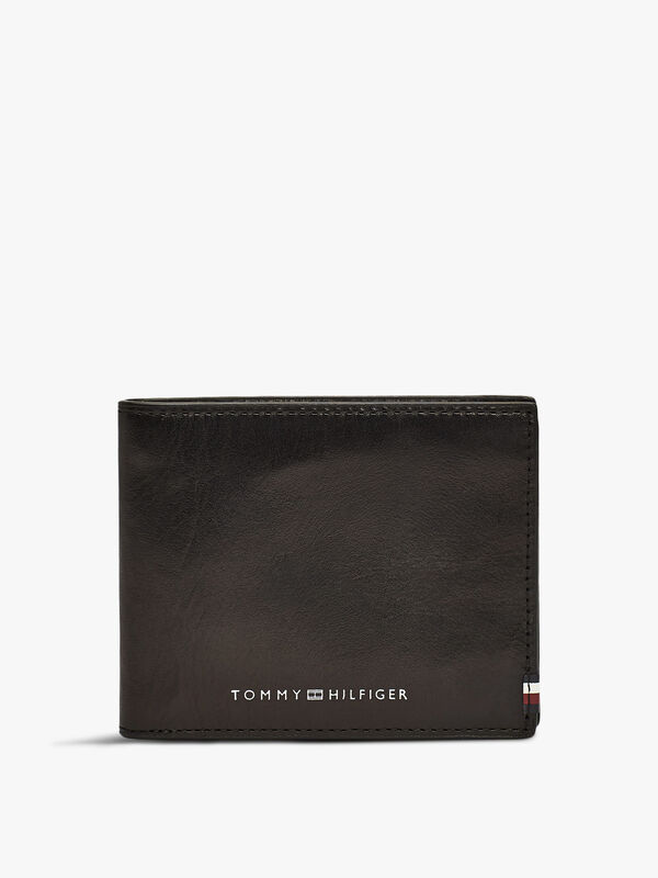 Polished Leather Mini Credit Card Wallet