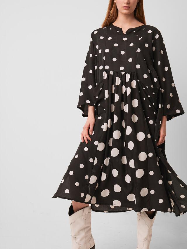 Alanga Dotty Smock Dress