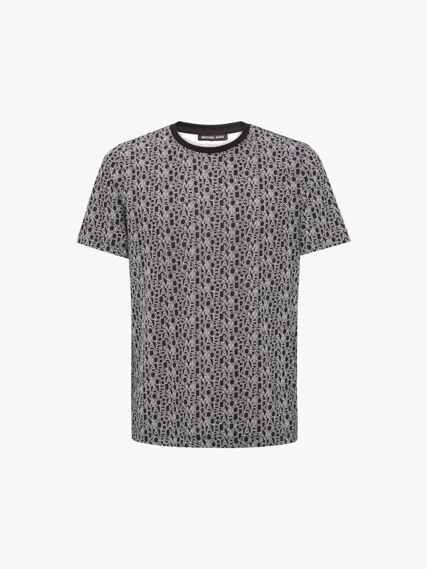 Allover Logo Print T-Shirt