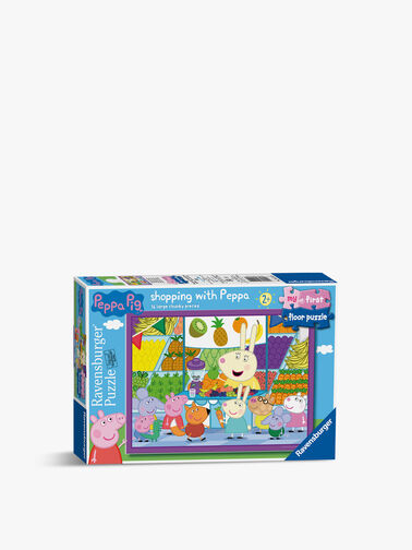 My First Floor Peppa Pig Shopping Puzzle