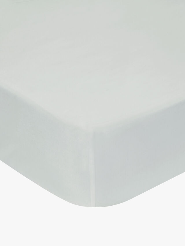 500 TC Sateen Plain Dye Fitted Sheet