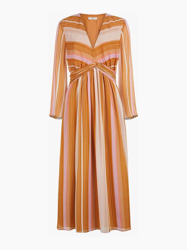 Andraya Stripe Dress