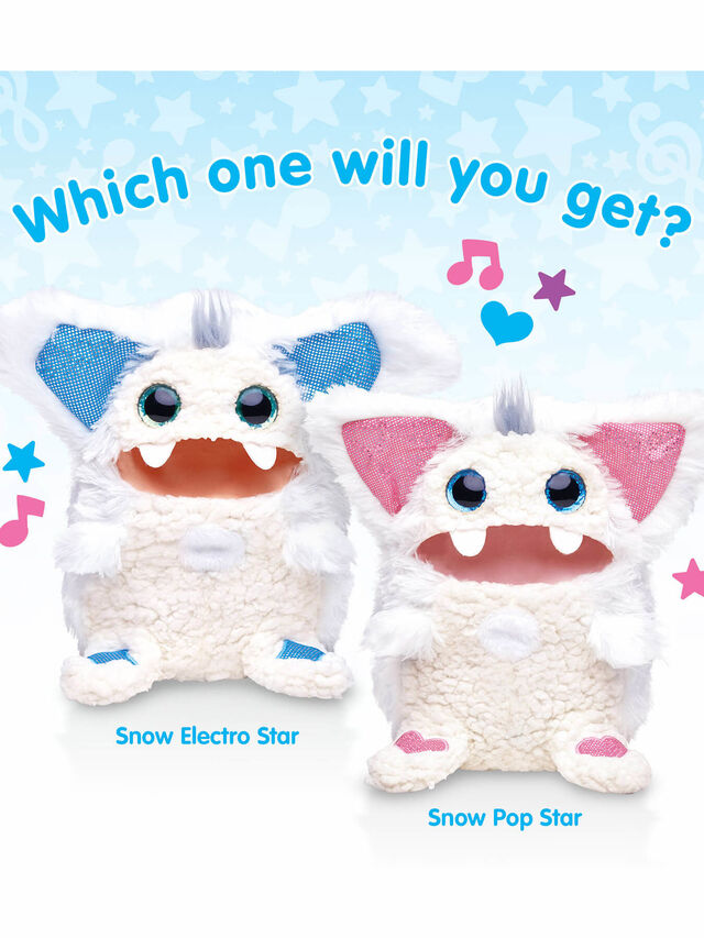Interactive Evolving Musical Plush - Snow