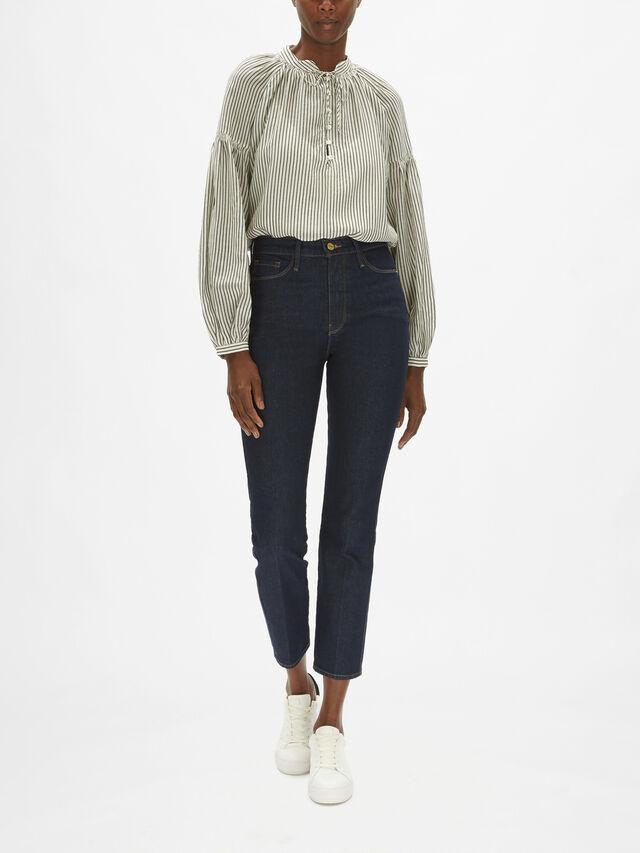 Le Sylvie Slender Straight Jeans