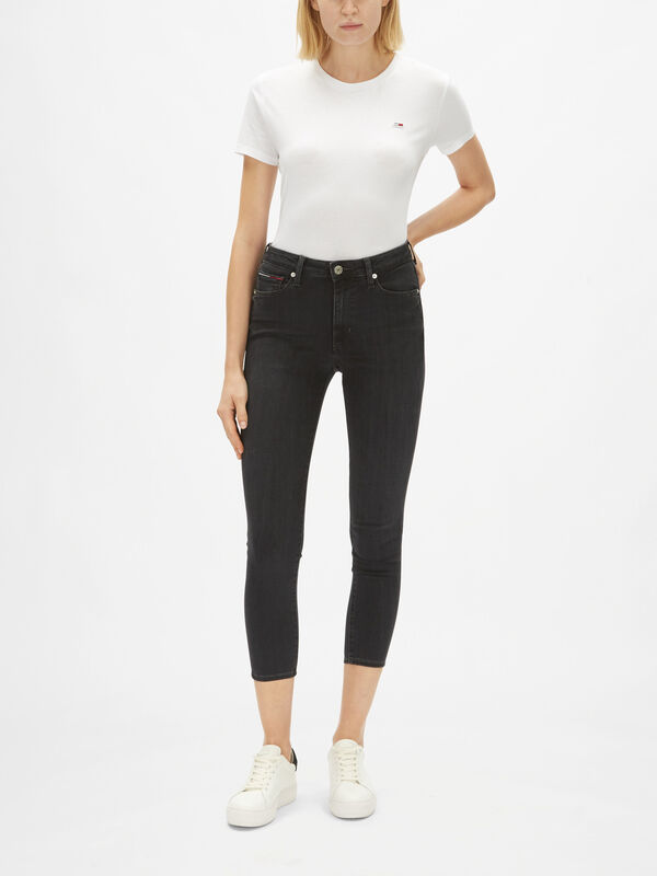 Sylvia High Rise Super Skinny Ankle Jeans
