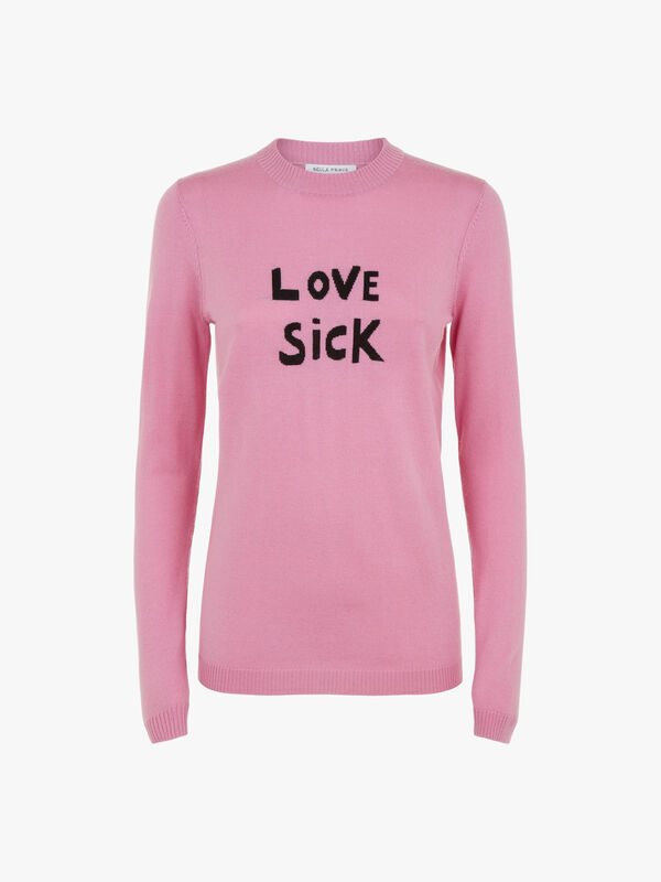Love Sick Merino Wool Jumper
