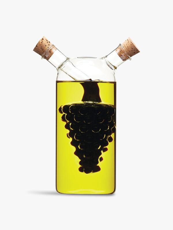 Italian Dual Oil and Vinegar Bottle