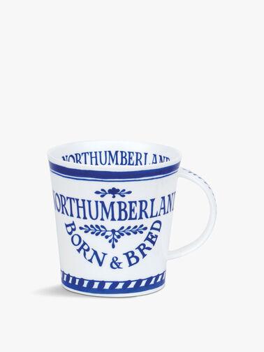 Northumberland Born And Bred Mug