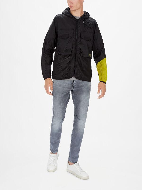 Utility Fabric Mix Field Jacket