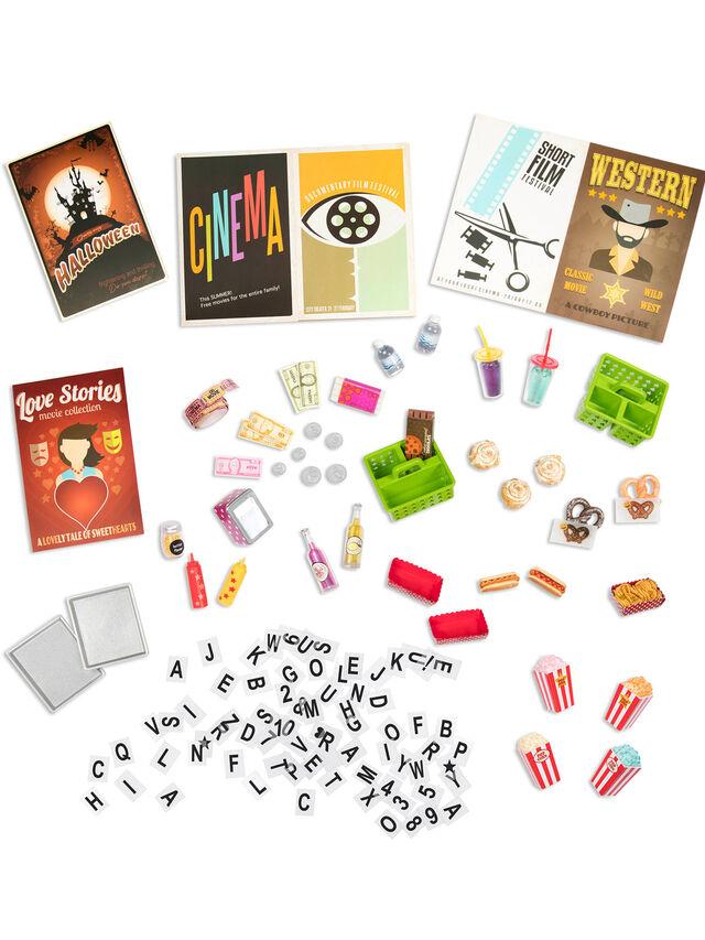 Cinema Movie Theater Set