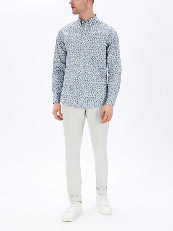 Regular Paisley Shirt