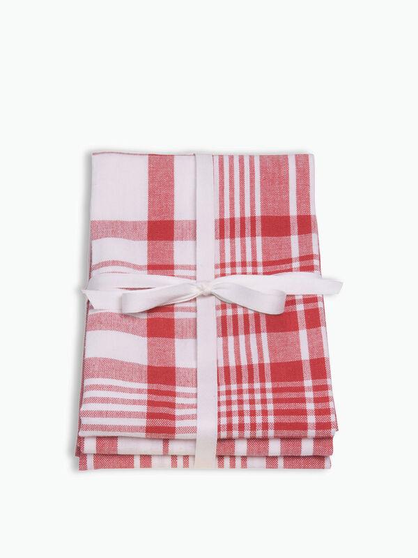 Love Colour Set of 3 Extra Large Tea Towels