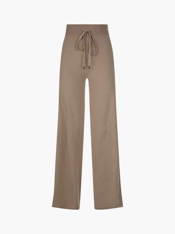 Knitted Luxury Wide Trousers