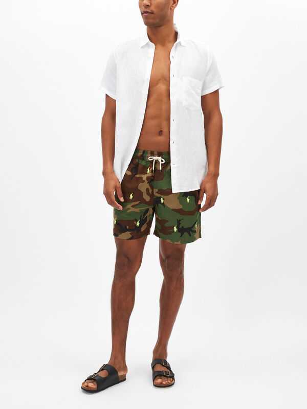 Camo Traveller Swim Shorts