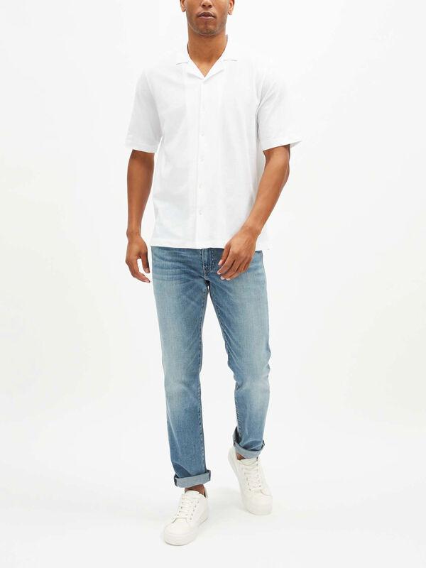 Short Sleeve Pique Shirt